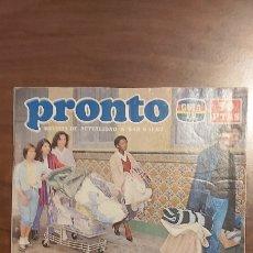 Coleccionismo de Revista Pronto: REVISTA PRONTO Nº 548-LOLA FLORES-Mª JOSÉ CANTUDO-MÁXIMO VALVERDE-HERMANAS HURTADO. Lote 261890890
