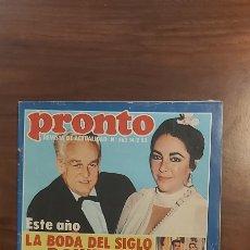 Coleccionismo de Revista Pronto: REVISTA PRONTO Nº 562 AÑO 1983. POSTER JEREMY IRONS. Lote 261898765