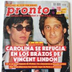 Coleccionismo de Revista Pronto: PRONTO 996 ANTONIO MOLINA GILA SONIA MARTÍNEZ LUPITA FERRER ISABEL PANTOJA EL DIONI MARILYN MONROE. Lote 261964325