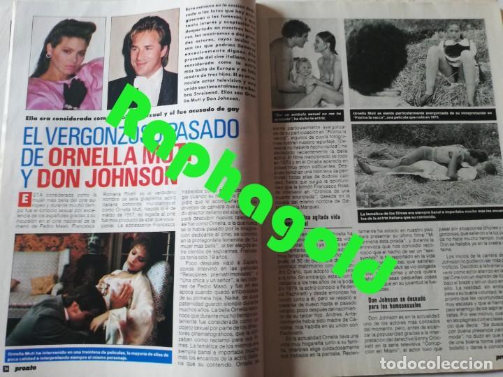 Coleccionismo de Revista Pronto: Revista PRONTO 864 Isabel Pantoja Paloma San Basilio Mari Trini Mecano Tyrone Power Crimen Urquijo - Foto 5 - 262080070