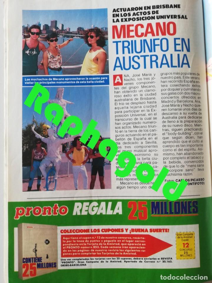 Coleccionismo de Revista Pronto: Revista PRONTO 864 Isabel Pantoja Paloma San Basilio Mari Trini Mecano Tyrone Power Crimen Urquijo - Foto 7 - 262080070