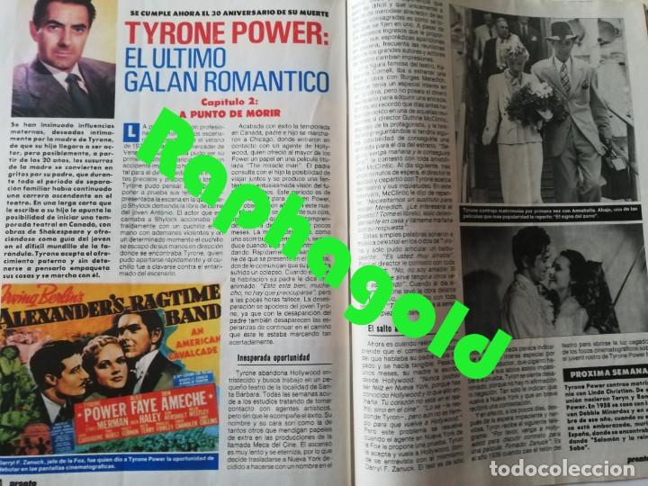 Coleccionismo de Revista Pronto: Revista PRONTO 864 Isabel Pantoja Paloma San Basilio Mari Trini Mecano Tyrone Power Crimen Urquijo - Foto 8 - 262080070