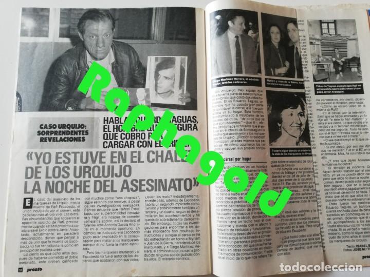Coleccionismo de Revista Pronto: Revista PRONTO 864 Isabel Pantoja Paloma San Basilio Mari Trini Mecano Tyrone Power Crimen Urquijo - Foto 9 - 262080070