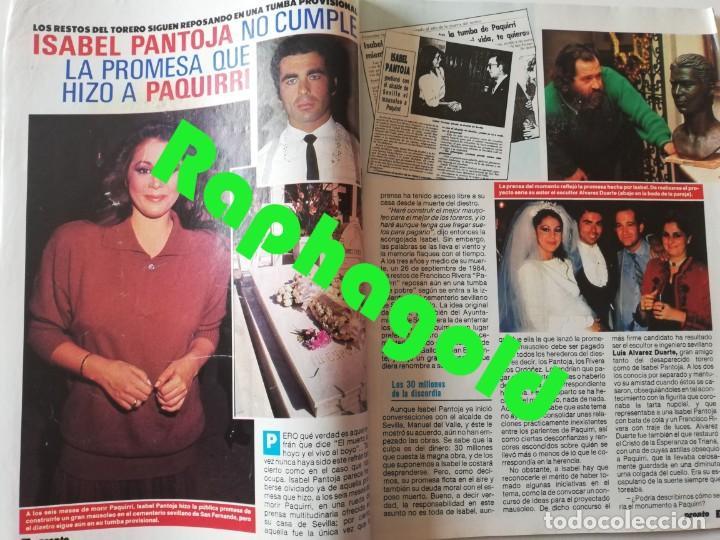 Coleccionismo de Revista Pronto: Revista PRONTO nº 827 Isabel Pantoja Madonna José Carreras Los Colby Betty Missiego Emiliano Revilla - Foto 2 - 262080430