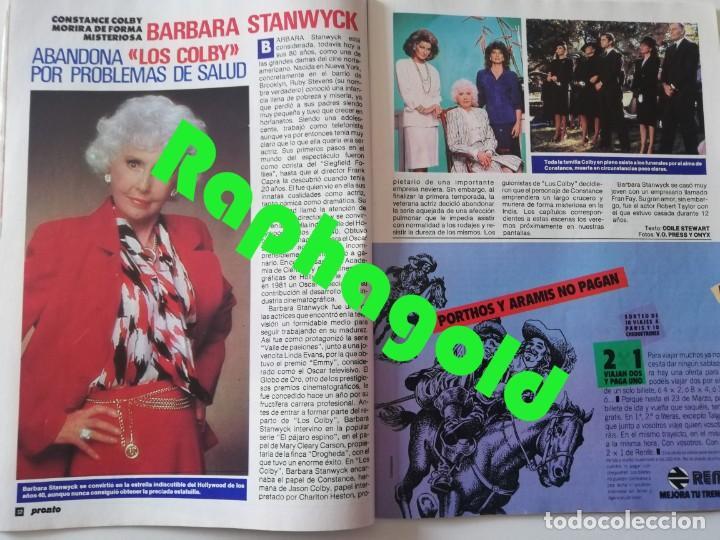 Coleccionismo de Revista Pronto: Revista PRONTO nº 827 Isabel Pantoja Madonna José Carreras Los Colby Betty Missiego Emiliano Revilla - Foto 5 - 262080430