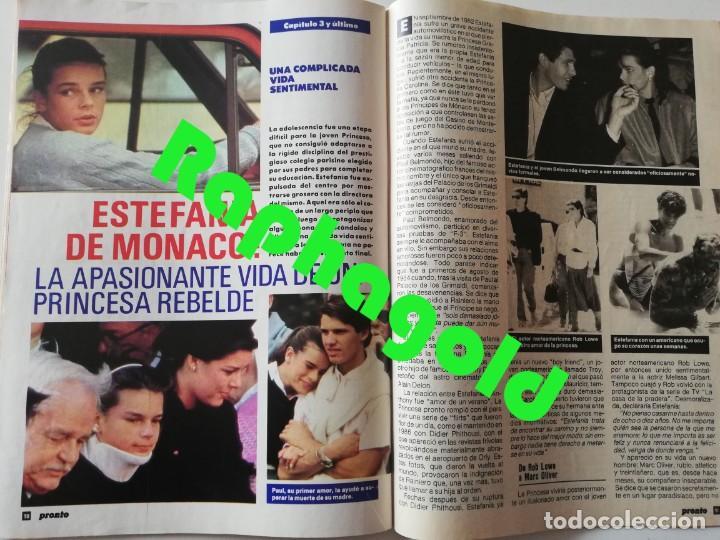 Coleccionismo de Revista Pronto: Revista PRONTO nº 827 Isabel Pantoja Madonna José Carreras Los Colby Betty Missiego Emiliano Revilla - Foto 9 - 262080430