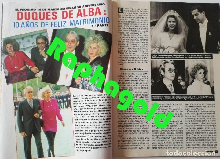 Coleccionismo de Revista Pronto: PRONTO nº 828 Bill Cosby Vicente Parra Hombres G Linda Evans Duquesa de Alba Danuta Lato Sabrina - Foto 3 - 262080960