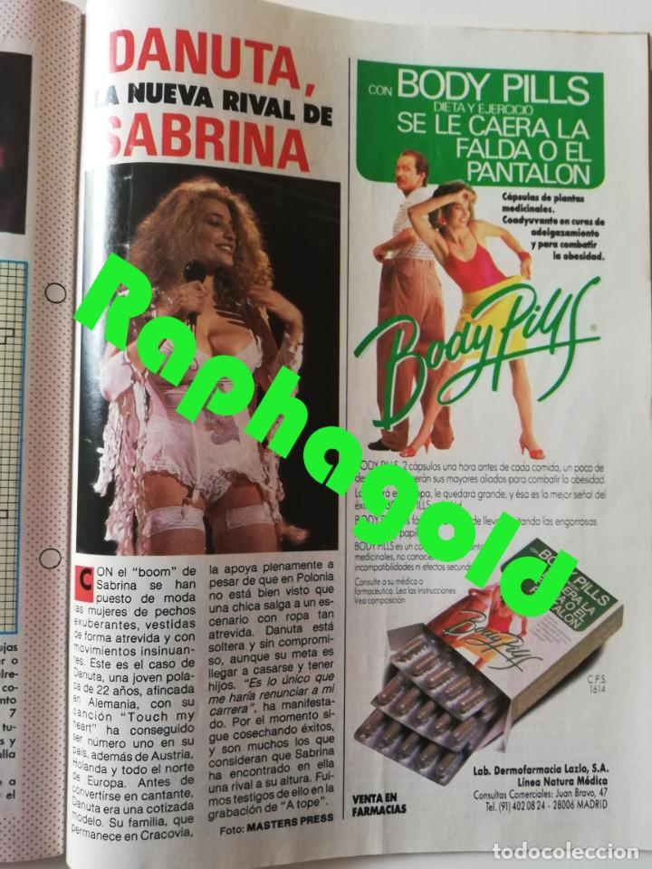 Coleccionismo de Revista Pronto: PRONTO nº 828 Bill Cosby Vicente Parra Hombres G Linda Evans Duquesa de Alba Danuta Lato Sabrina - Foto 8 - 262080960