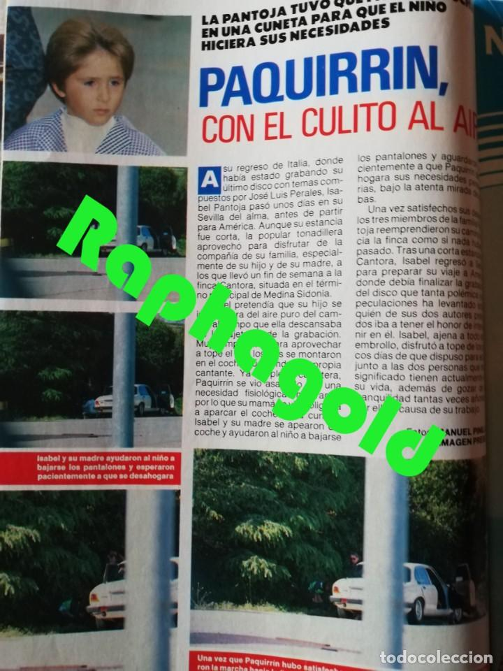 Coleccionismo de Revista Pronto: Revista PRONTO nº 892 Marta Chavarri Grace Kelly Rob Lowe Kiko Rivera Isabel Pantoja Ruiz Mateos - Foto 4 - 262082485