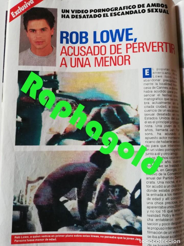 Coleccionismo de Revista Pronto: Revista PRONTO nº 892 Marta Chavarri Grace Kelly Rob Lowe Kiko Rivera Isabel Pantoja Ruiz Mateos - Foto 5 - 262082485