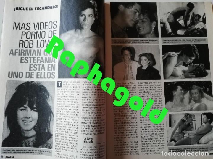 Coleccionismo de Revista Pronto: Revista PRONTO 894 Rob Lowe Sabrina Salerno Alf Rafaela Aparicio Arantxa Sánchez Vicario Lola Forner - Foto 2 - 262082940