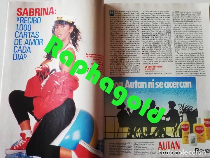 Coleccionismo de Revista Pronto: Revista PRONTO 894 Rob Lowe Sabrina Salerno Alf Rafaela Aparicio Arantxa Sánchez Vicario Lola Forner - Foto 3 - 262082940