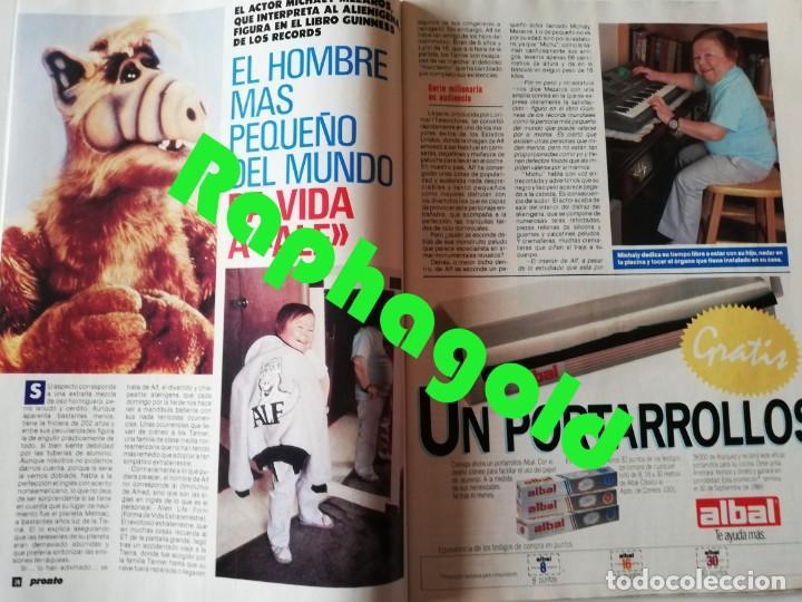 Coleccionismo de Revista Pronto: Revista PRONTO 894 Rob Lowe Sabrina Salerno Alf Rafaela Aparicio Arantxa Sánchez Vicario Lola Forner - Foto 4 - 262082940