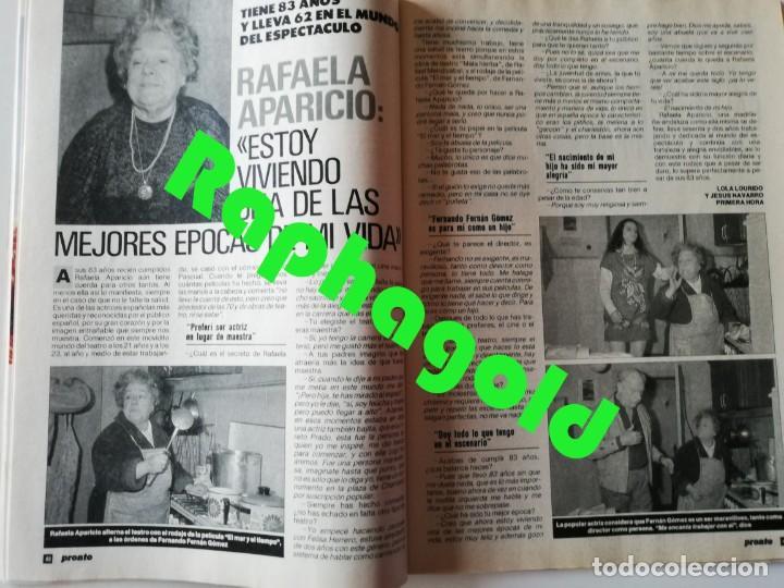 Coleccionismo de Revista Pronto: Revista PRONTO 894 Rob Lowe Sabrina Salerno Alf Rafaela Aparicio Arantxa Sánchez Vicario Lola Forner - Foto 5 - 262082940