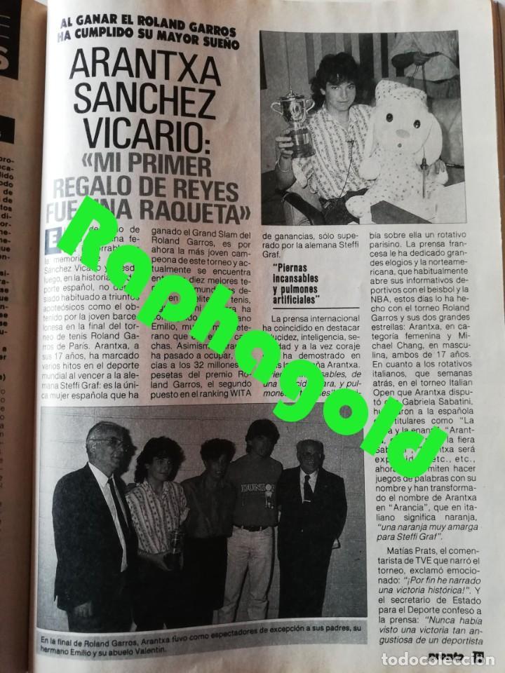 Coleccionismo de Revista Pronto: Revista PRONTO 894 Rob Lowe Sabrina Salerno Alf Rafaela Aparicio Arantxa Sánchez Vicario Lola Forner - Foto 6 - 262082940