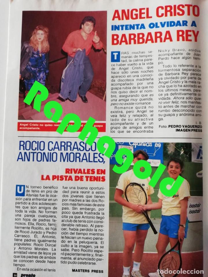 Coleccionismo de Revista Pronto: Revista PRONTO 894 Rob Lowe Sabrina Salerno Alf Rafaela Aparicio Arantxa Sánchez Vicario Lola Forner - Foto 8 - 262082940