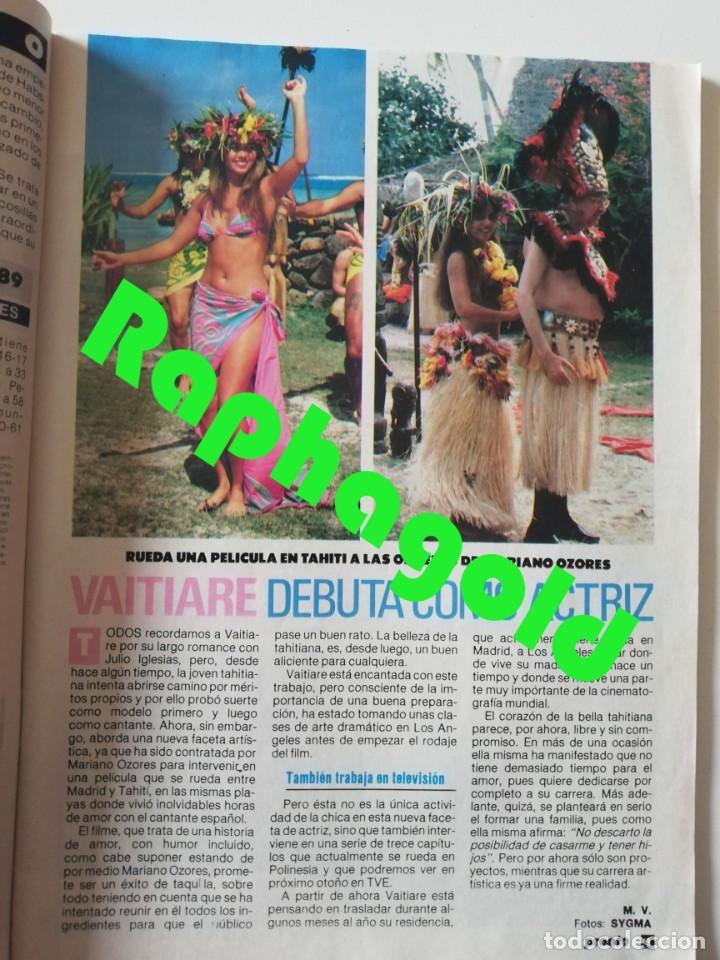 Coleccionismo de Revista Pronto: PRONTO nº 899 María del Monte El Litri Vaitiare José Luis Perales Jesús Hermida Isabel Preysler ETA - Foto 4 - 262083415