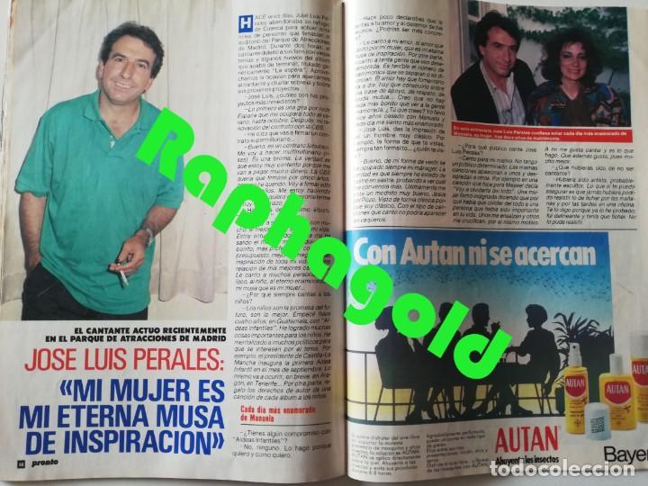 Coleccionismo de Revista Pronto: PRONTO nº 899 María del Monte El Litri Vaitiare José Luis Perales Jesús Hermida Isabel Preysler ETA - Foto 5 - 262083415