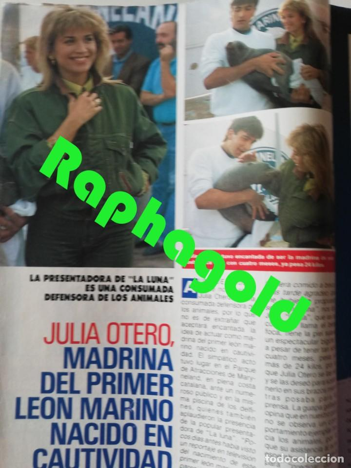Coleccionismo de Revista Pronto: Revista PRONTO 912 Marta Chávarri Isabel Pantoja Manolo Escobar Lola Flores Julia Otero Jane Fonda - Foto 2 - 262083880