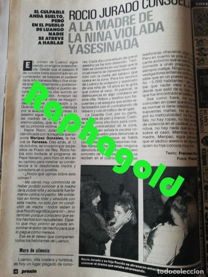 Coleccionismo de Revista Pronto: Revista PRONTO 912 Marta Chávarri Isabel Pantoja Manolo Escobar Lola Flores Julia Otero Jane Fonda - Foto 7 - 262083880