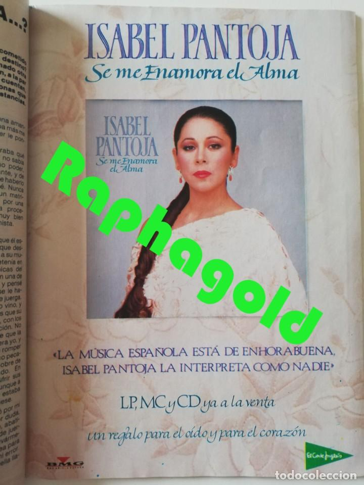 Coleccionismo de Revista Pronto: Revista PRONTO 912 Marta Chávarri Isabel Pantoja Manolo Escobar Lola Flores Julia Otero Jane Fonda - Foto 8 - 262083880