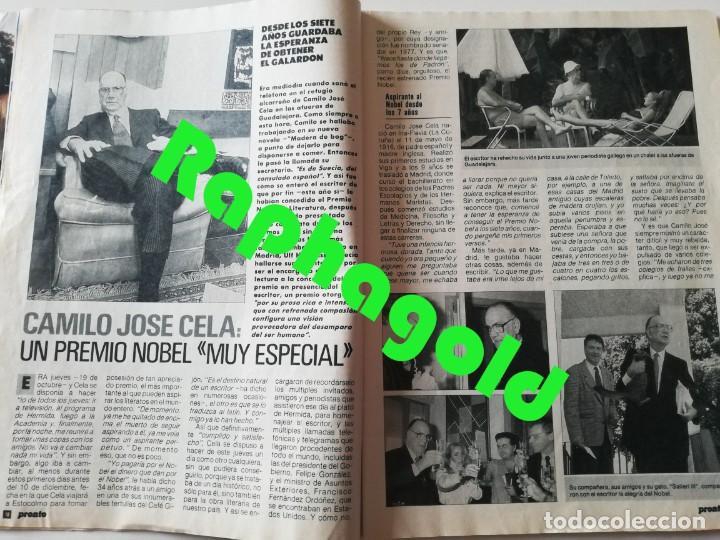 Coleccionismo de Revista Pronto: Revista PRONTO nº 913 Isabel Preysler Marta Chávarri Vicky Larraz Paquita Rico Camilo José Cela - Foto 3 - 262084420