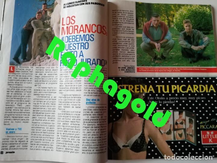 Coleccionismo de Revista Pronto: PRONTO nº 914 Camilo José Cela Marta Sánchez Vicky Larraz Lola Flores Los Morancos Travolta Heróica - Foto 8 - 262084850