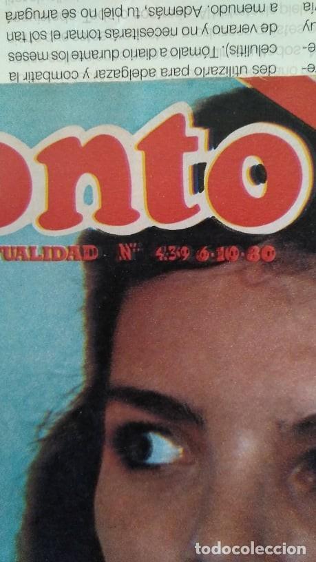 Coleccionismo de Revista Pronto: REVISTA PRONTO 439 OCTUBRE 1980 LOLA FORNER, SARA MONTIEL, ROCÍO JURADO, HEATHER PARISI - Foto 2 - 262096295