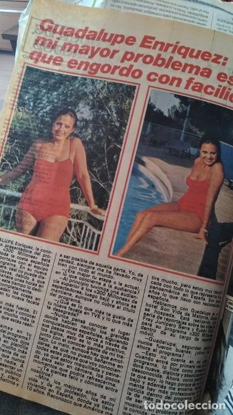 Coleccionismo de Revista Pronto: REVISTA PRONTO 439 OCTUBRE 1980 LOLA FORNER, SARA MONTIEL, ROCÍO JURADO, HEATHER PARISI - Foto 3 - 262096295