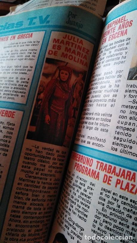 Coleccionismo de Revista Pronto: REVISTA PRONTO 439 OCTUBRE 1980 LOLA FORNER, SARA MONTIEL, ROCÍO JURADO, HEATHER PARISI - Foto 4 - 262096295
