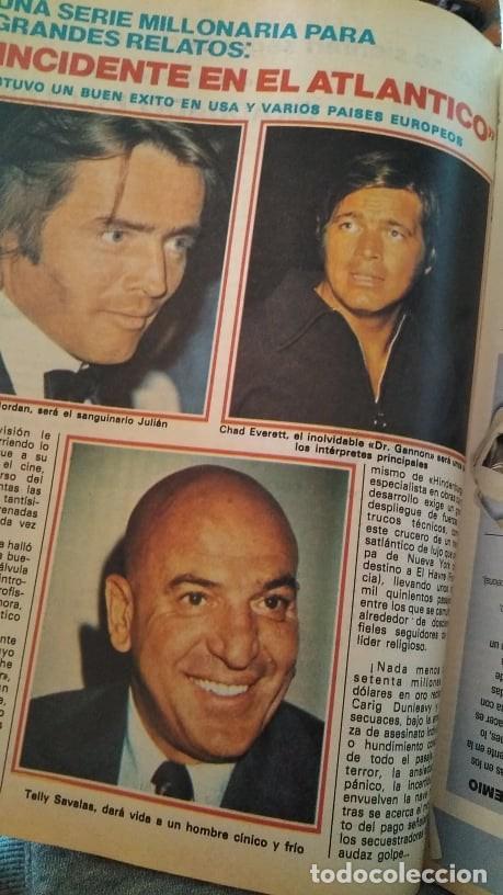 Coleccionismo de Revista Pronto: REVISTA PRONTO 439 OCTUBRE 1980 LOLA FORNER, SARA MONTIEL, ROCÍO JURADO, HEATHER PARISI - Foto 5 - 262096295