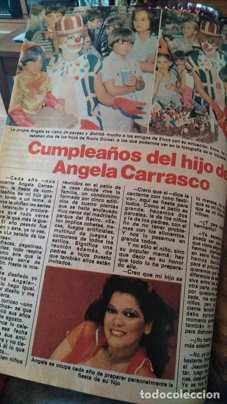 Coleccionismo de Revista Pronto: REVISTA PRONTO 439 OCTUBRE 1980 LOLA FORNER, SARA MONTIEL, ROCÍO JURADO, HEATHER PARISI - Foto 6 - 262096295