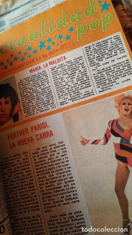 Coleccionismo de Revista Pronto: REVISTA PRONTO 439 OCTUBRE 1980 LOLA FORNER, SARA MONTIEL, ROCÍO JURADO, HEATHER PARISI - Foto 7 - 262096295
