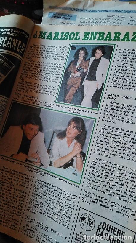 Coleccionismo de Revista Pronto: REVISTA PRONTO 439 OCTUBRE 1980 LOLA FORNER, SARA MONTIEL, ROCÍO JURADO, HEATHER PARISI - Foto 9 - 262096295
