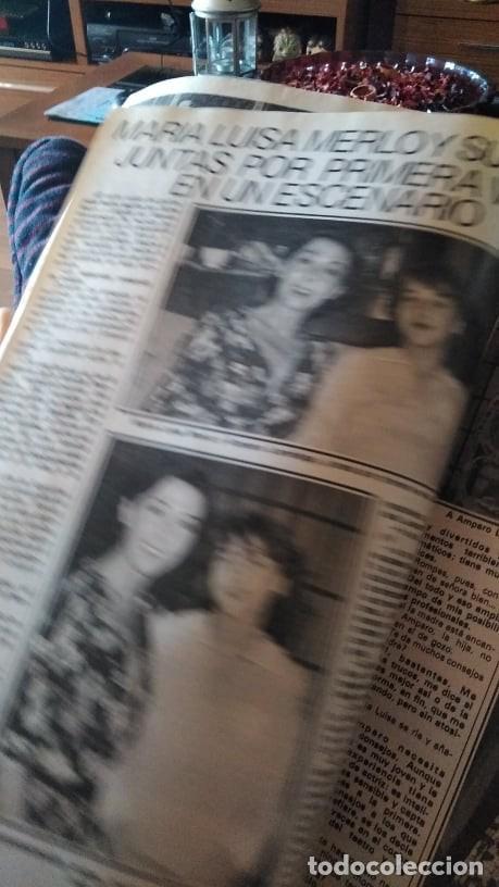 Coleccionismo de Revista Pronto: REVISTA PRONTO 439 OCTUBRE 1980 LOLA FORNER, SARA MONTIEL, ROCÍO JURADO, HEATHER PARISI - Foto 11 - 262096295