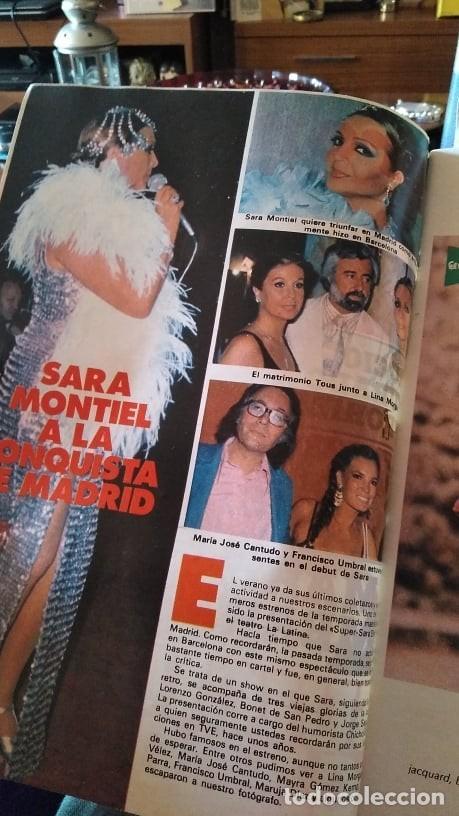 Coleccionismo de Revista Pronto: REVISTA PRONTO 439 OCTUBRE 1980 LOLA FORNER, SARA MONTIEL, ROCÍO JURADO, HEATHER PARISI - Foto 13 - 262096295