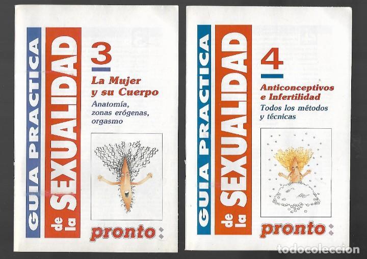 Coleccionismo de Revista Pronto: 1R- LA REVISTA PRONTO *GUÍA PRÁCTICA DE LA SEXUALIDAD.12 FASCICULOS 288 Pags AMENA,CLARA, DIVERTIDA - Foto 4 - 262112995