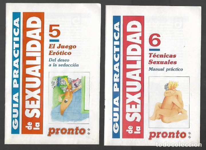 Coleccionismo de Revista Pronto: 1R- LA REVISTA PRONTO *GUÍA PRÁCTICA DE LA SEXUALIDAD.12 FASCICULOS 288 Pags AMENA,CLARA, DIVERTIDA - Foto 5 - 262112995