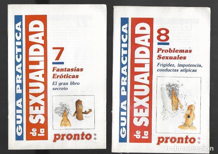 Coleccionismo de Revista Pronto: 1R- LA REVISTA PRONTO *GUÍA PRÁCTICA DE LA SEXUALIDAD.12 FASCICULOS 288 Pags AMENA,CLARA, DIVERTIDA - Foto 6 - 262112995