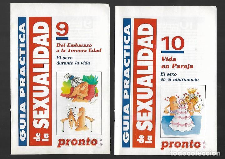Coleccionismo de Revista Pronto: 1R- LA REVISTA PRONTO *GUÍA PRÁCTICA DE LA SEXUALIDAD.12 FASCICULOS 288 Pags AMENA,CLARA, DIVERTIDA - Foto 7 - 262112995