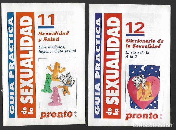 Coleccionismo de Revista Pronto: 1R- LA REVISTA PRONTO *GUÍA PRÁCTICA DE LA SEXUALIDAD.12 FASCICULOS 288 Pags AMENA,CLARA, DIVERTIDA - Foto 8 - 262112995