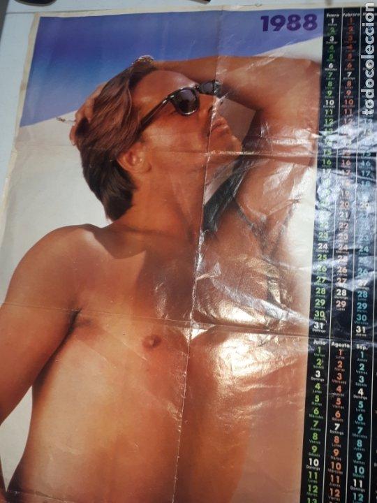 Coleccionismo de Revista Pronto: Doble poster SABRINA Y DON JOHNSON PRONTO 1988 leer descripción - Foto 3 - 262256030