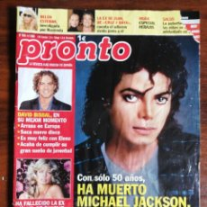 Coleccionismo de Revista Pronto: PRONTO. Nº 1939. MUERTE MICHAEL JACKSON .. Lote 262547165