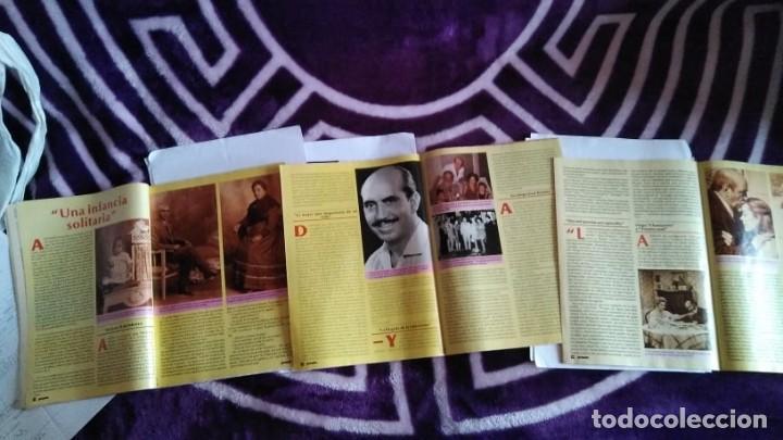 Coleccionismo de Revista Pronto: 3 REVISTAS DE PRONTO CON LA BIOGRAFÍA DE ANTONIO FERRANDIS CHANQUETE VERANO AZUL AÑO 1987 - Foto 2 - 262726120