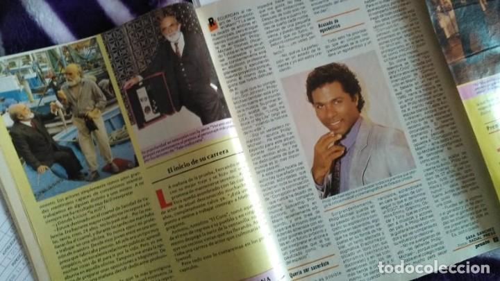 Coleccionismo de Revista Pronto: 3 REVISTAS DE PRONTO CON LA BIOGRAFÍA DE ANTONIO FERRANDIS CHANQUETE VERANO AZUL AÑO 1987 - Foto 4 - 262726120