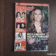 Coleccionismo de Revista Pronto: REVISTA PRONTO, NÚMERO 1797. Lote 266085073