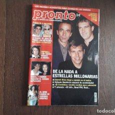 Coleccionismo de Revista Pronto: REVISTA PRONTO, NÚMERO 1618, 10 DE MAYO 2003. Lote 266085263