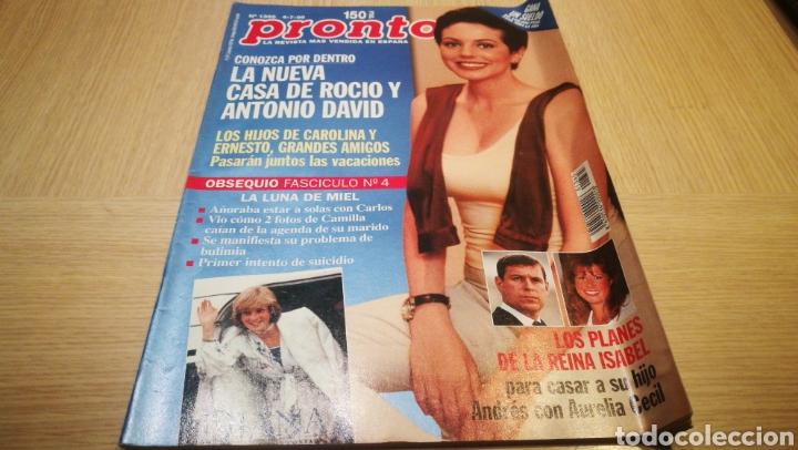 REVISTA PRONTO N ° 1365 - 4/7/98 - LA NUEVA CASA DE ROCÍO Y ANTONIO DAVID (Papel - Revistas y Periódicos Modernos (a partir de 1.940) - Revista Pronto)