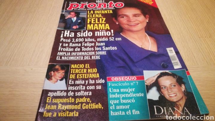 REVISTA PRONTO N° 1368 - 25/7/98 - LA INFANTA ELENA (Papel - Revistas y Periódicos Modernos (a partir de 1.940) - Revista Pronto)