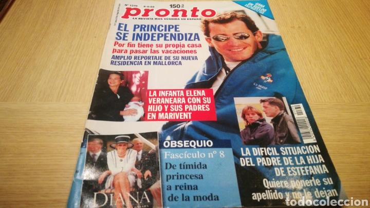 REVISTA PRONTO N° 1370 - 8/8/98 - EL PRNCIPE DE INDEPENDIZA (Papel - Revistas y Periódicos Modernos (a partir de 1.940) - Revista Pronto)